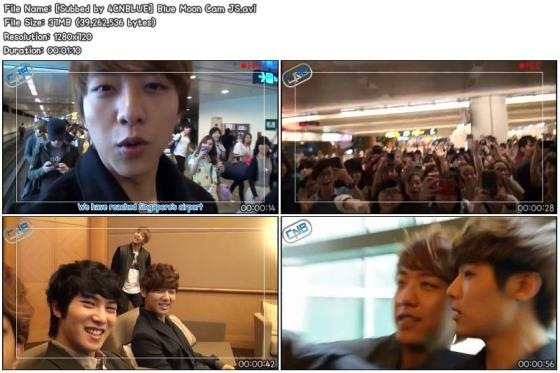 [Subbed by 4CNBLUE] Blue Moon Cam JS