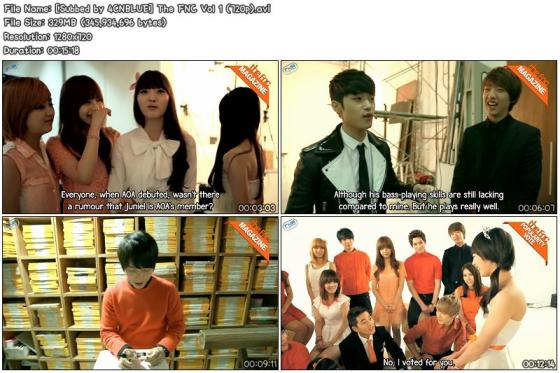 [Subbed by 4CNBLUE] The FNC Vol 1 (720p)